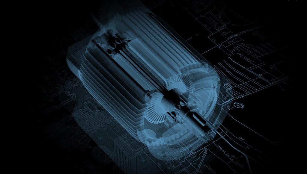 Mechatronics image of motor part