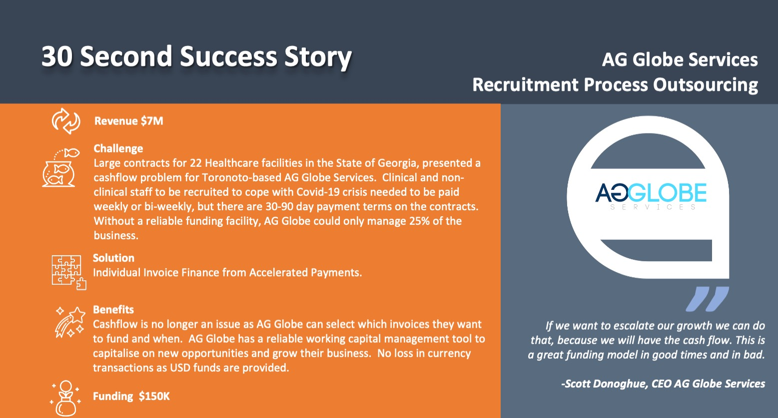 AG Gobe Services use Invoice Finance case study
